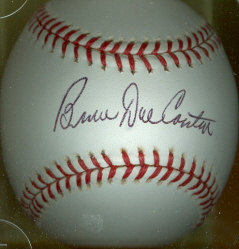 BRUCE DAL CANTON Autographed Baseball