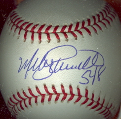 MIKE SCHMIDT Autographed Baseball