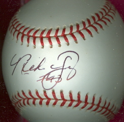 MIKE YOUNG Autographed Baseball