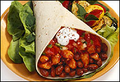 BBQ Chicken & Baked Bean Burritos