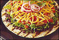 Tostadas - Grilled Santa Fe Chicken & Black Bean Tostada