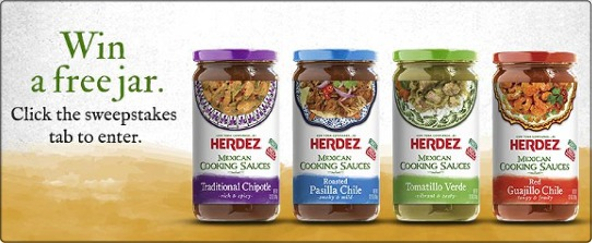 Try one of Herdez new Mexican Cooking Sauces