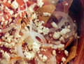 Red Chicken Chilaquiles Stew