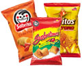 Chips, Snacks, Peanuts and Pastelitos
