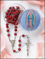Our Lady of Guadalupe Rosary - Rose Scented Rosary