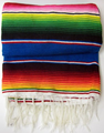 Sarape Mexico Grande - Large Colorful Mexican Blanket