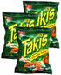 Takis Crunchy Fajita Taco by Barcel (Pack of 3)