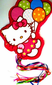 Hello Kitty Pull Pinata