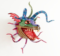 Alebrije Lizard Buffoon Mask