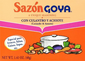Goya Sazon Cilantro and Achiote Seasoning