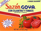 Goya Cilantro and Tomato Seasoning