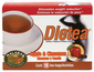 Tea - Dietea Apple & Cinnamon Diet Tea by Malabar - tea bags