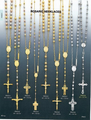 Gold Rosaries - 14 K Gold Rosary Necklaces