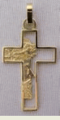 Religious Gold Crosses - Gold Cross - Cruz Oro 14k - Crucifijos Oro