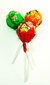 Pulparindo Assorted Hard Candy Lollipops
