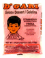 D'Gari Strawberry Gelatin 6 oz