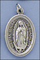 Our Lady of Guadalupe Silver Medal - Medalla Virgen de Guadalupe Plata