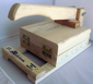 Tortilla Press Pine Wood - Tortilladora Madera Pino by La Mexicana