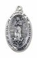 "Our Lady of Guadalupe Medal  with 24"" chain"