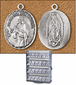 Our Lady of Guadalupe / Saint Juan Diego Medal and Chain