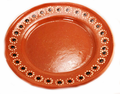 """Clay Round Plate 10"""""""