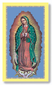 Our Lady of Guadalupe Holy Card Laminated