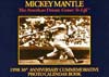 Mickey Mantle Photo Calendar Fact Book (1998)