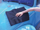 "Black Microfiber Towels 16""x16"" 10 pack by Super Towel"