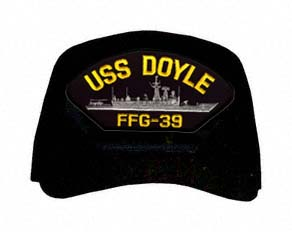 USS Doyle FFG-39 Ship Cap