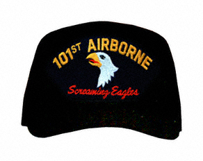 101st Airborne 'Screaming Eagles' with Patch Ball Cap