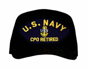 U S Navy Cpo Retired With Anchor Ball Cap