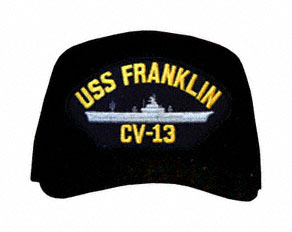 USS Franklin CV-13 Ships Ball Cap