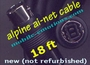 AI-NET Style Cable For Alpine -  18Ft Cable