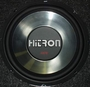 "Hitron Chrome 10"" woofer - 400 Watts"