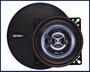 Jensen  XS1402 75 Watts Peak Coaxial Speakers with 2-Way Swivel Tweeter