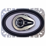 Pyramid 4677     4� x 6� 3-Way Triaxial Speaker w/Chrome Basket & Cone