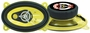 Pyle 4x6 3 way YELLOW car Speakers 180 watts Pair  NEW