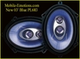 6x8/5x7 3way Tri-axial Car Speakers 2003 360watts PL683BL
