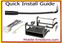 Wire Harness & Install Kits - Years 1965 - 2007 Quick Guide Chart