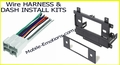 Stereo Wire Harness <br> & Dash Kits
