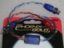 Y Adaptor 1Male to 2 Female RCA Interconnect Phoenix Gold