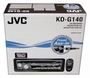 JVC KD-G140 CD Player Indash Car Stereo w/ Front-AUX Input