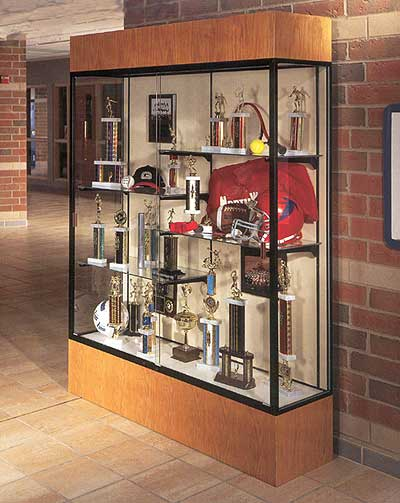 "Reliant Display Cabinets Up To 72"" Wide!"