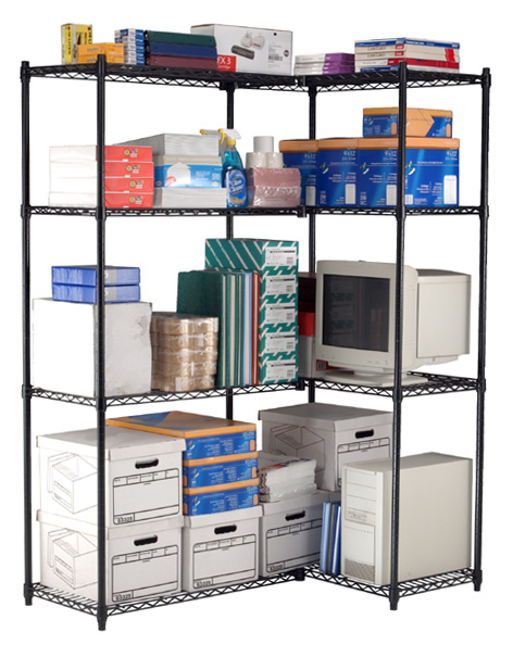 Versatile, Affordable, Steel Wire Storage Racks