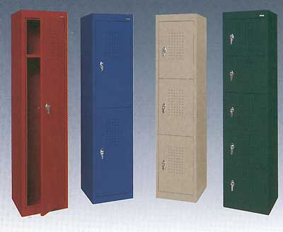 Steel Storage Lockers in 9 Colors!