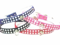 1/2 in wide Rhinestone Collars-Velvet