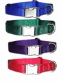 "1"" ALLMETAL Kwik Klip Adjustable Dog Collars"