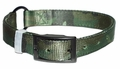 Ring in center Camouflage Nylon Dog Collar