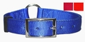 Center Ring Nylon Dog Collar 1 Inch Wide