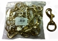 Brass Bolt Snaps (bag of 12)
